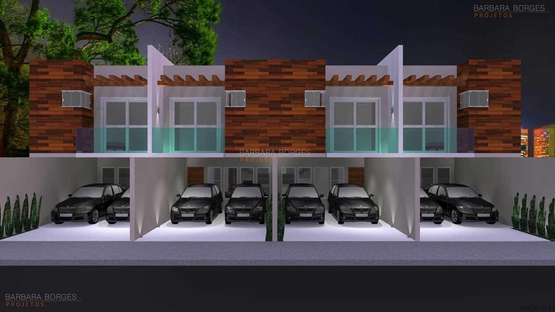 projetos arquitetônicos casas geminadas