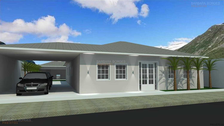 projetos casas fachadas
