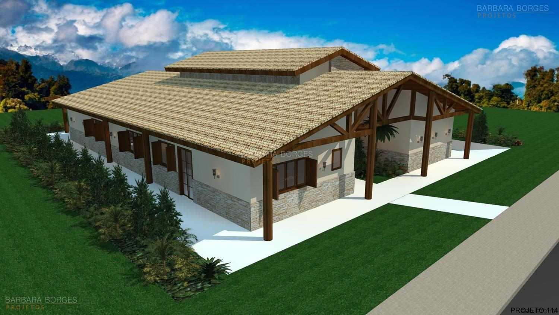projetos de casa de fazenda