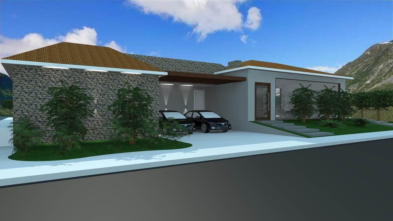 Projetos de casas de campo barbara borges projetos 3d for Modelos de casas de campo modernas