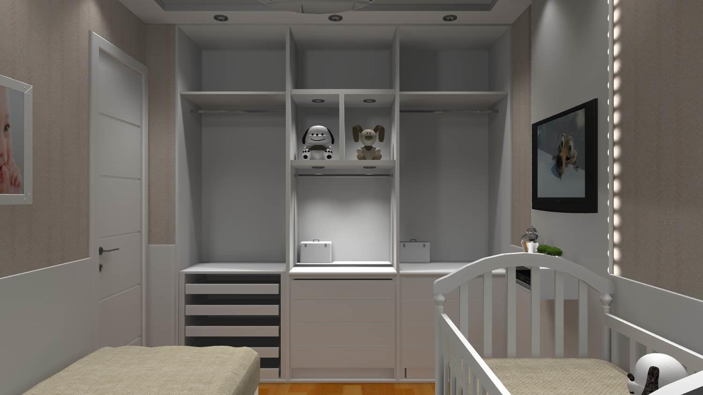 Quartos de bebe barbara borges projetos 3d - Dormitorio de bebe ...