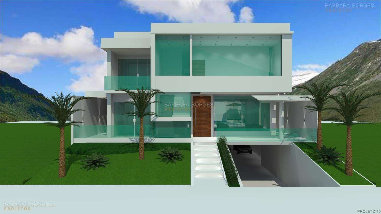 Fotos de fachadas de sobrados telhado embutido quotes for Fachadas para casas