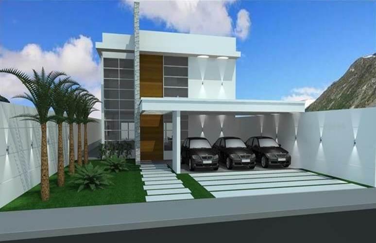 Projetos para casas modernas for Layout casas modernas