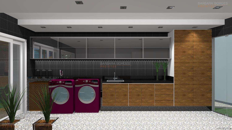 Projetos de Lavanderia Projetos de Área de Serviço de Apartamentos  #67492A 1500 844