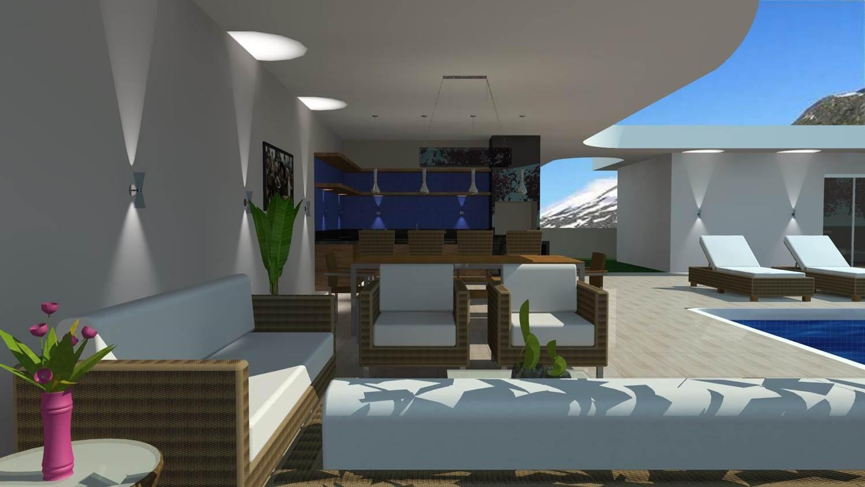 Criar Plantas De Casas Projetos De 193 Rea Externa Barbara Borges Projetos 3d