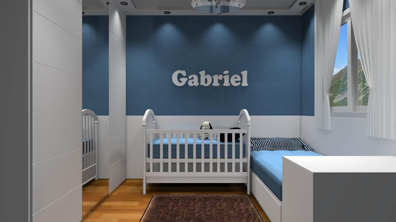 modelos de quartos de bebe