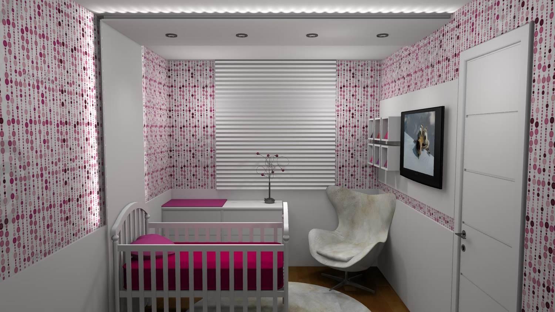 projeto de dormitorio de bebe