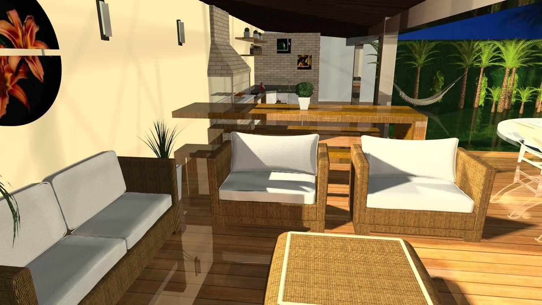 Projetos de Área Externa Barbara Borges Projetos 3D #C09D0B 1500 843