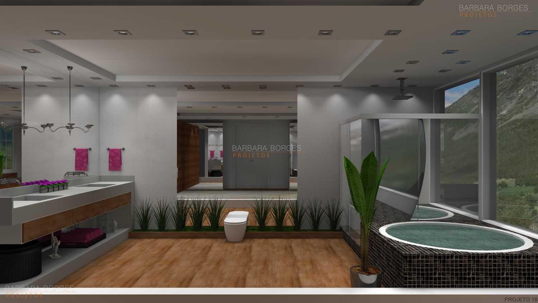Projetos de Banheiros Barbara Borges Projetos 3D #733364 1500 844