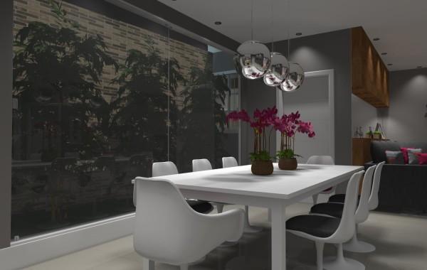 Projetos de Salas de Jantar