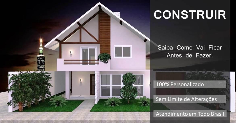 projetos para construçao de casas