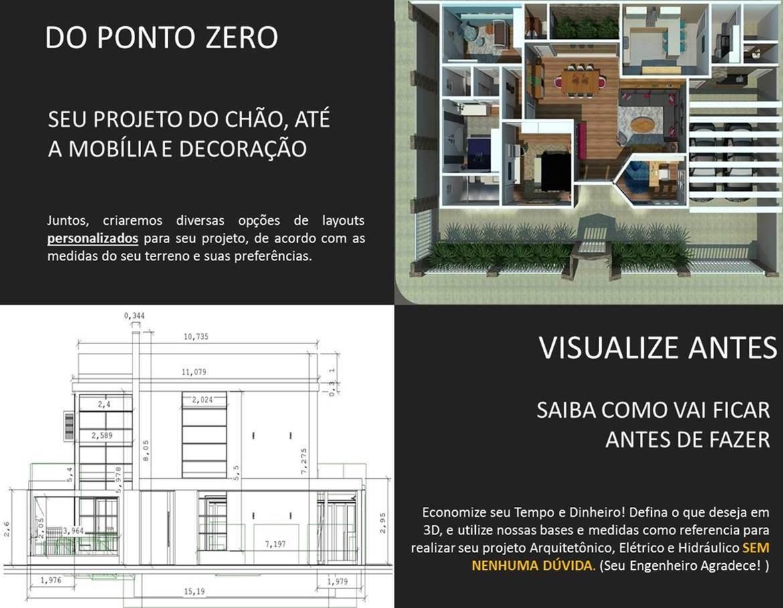 projetos para construção de sobrados