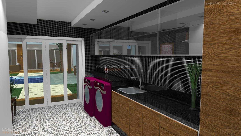 projeto casas areas de servico