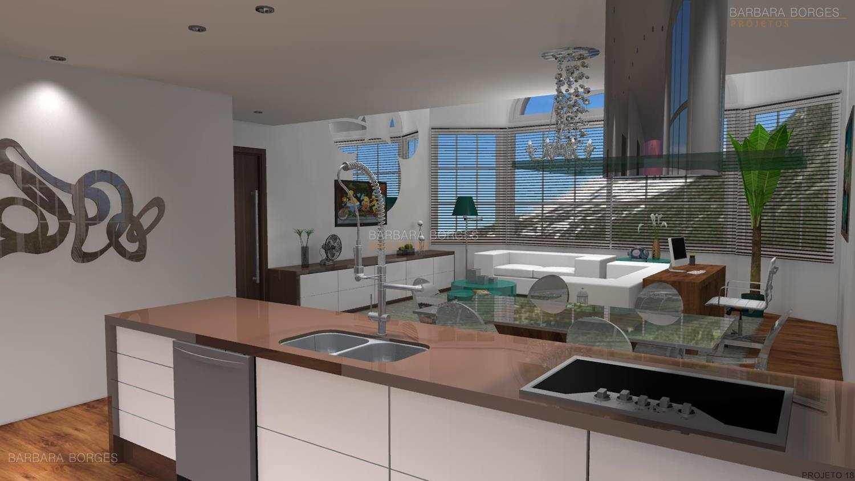 Projeto Casas Barbara Borges Projetos 3D #40668B 1500 844