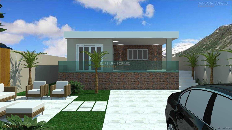 projeto casas fachadas