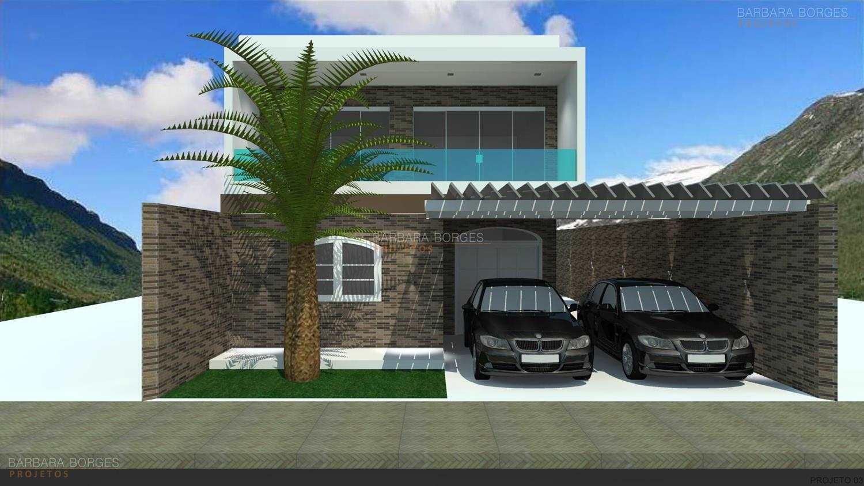 projeto casas frontal