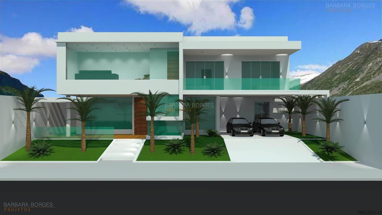 projetos de casas com vidro