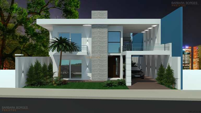 Casas modernas 3d auto design tech for Planos casas pequenas
