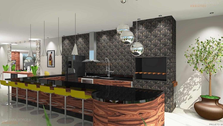 Projeto de Casa Barbara Borges Projetos 3D #496C2A 1500 844