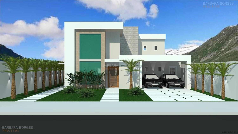 #1B5CB0 Projeto de Casa Barbara Borges Projetos 3D 1500x844 píxeis em Criar Casas 3d