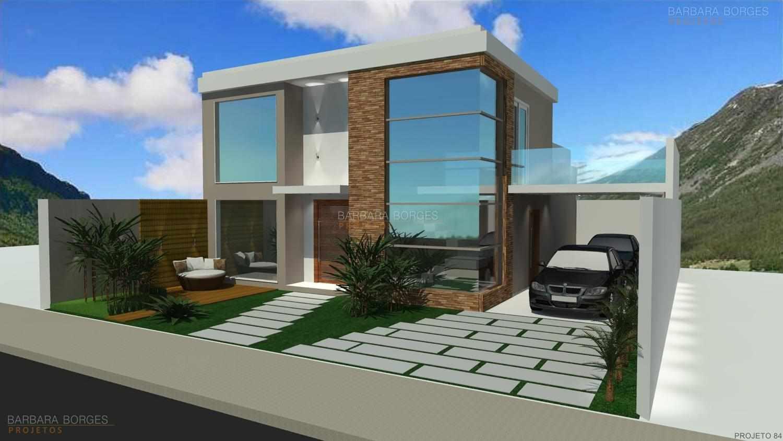 Projetos de casas modernas barbara borges projetos 3d for Casa moderna sketchup download