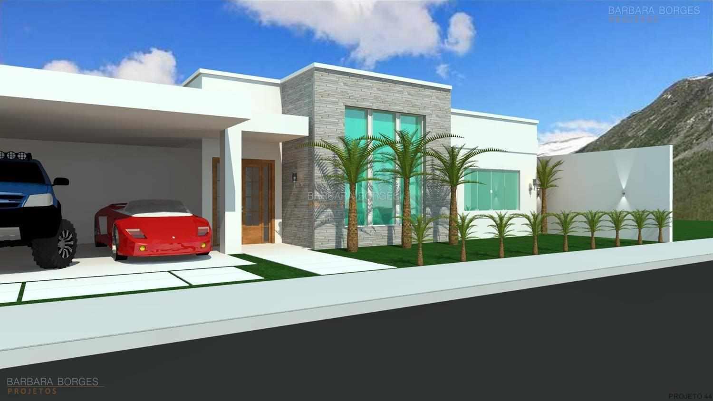 Projetos de casas modernas barbara borges projetos 3d for Casas casas