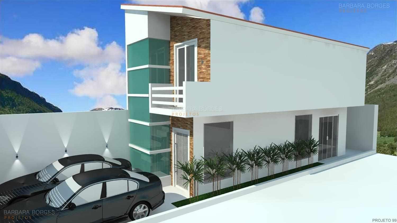 Projetos de casas pequenas barbara borges projetos 3d for Casas 3d