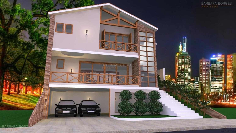 Projetos de sobrados barbara borges projetos 3d for Casas 3d