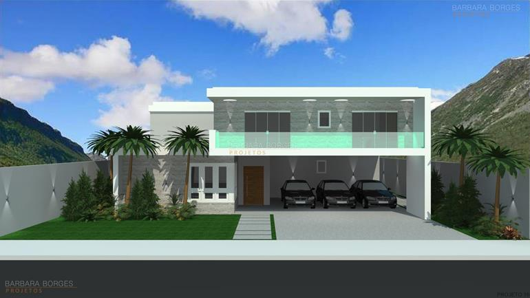 Plantas de casas e plantas 3d barbara borges projetos for Casas 3d