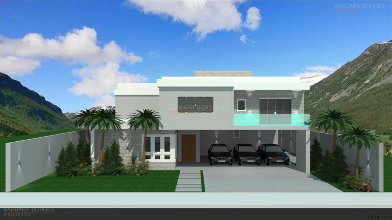 plantas-de-casas-projeto-de-fachada-garagem-4-carros