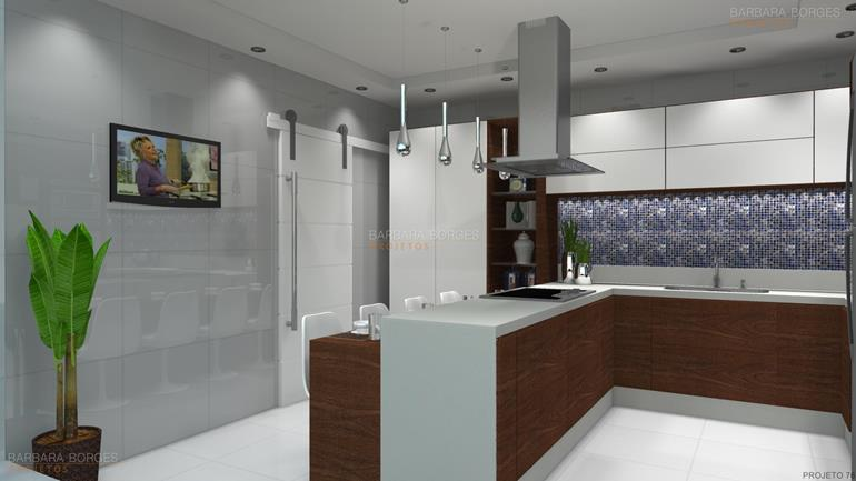projeto 3D de cozinhas