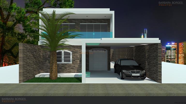 projetos residenciais projeto de fachada de casa 07