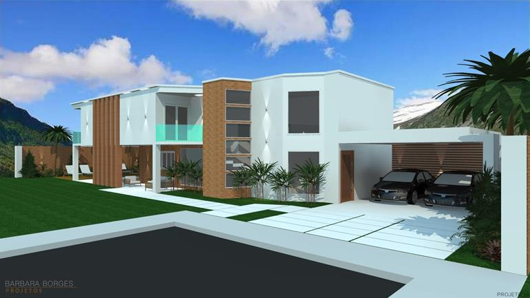 Projetos sobrados casa em l barbara borges projetos for Modelos de casas medianas