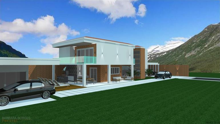 projetos sobrados modelo de casa 60