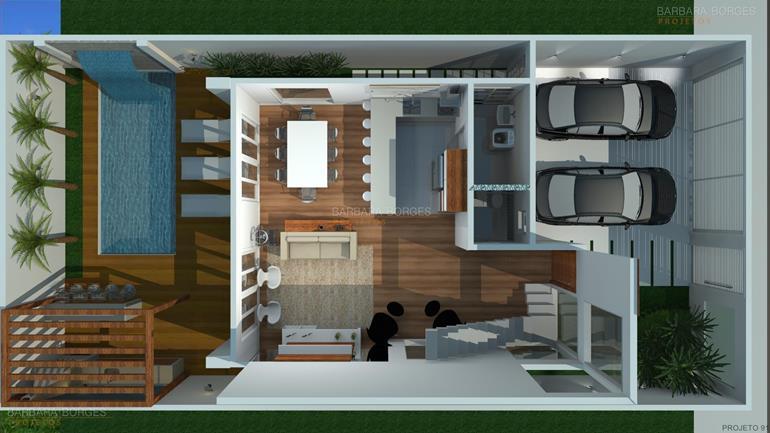 Plantas casas construir barbara borges projetos for Hacer casas en 3d online