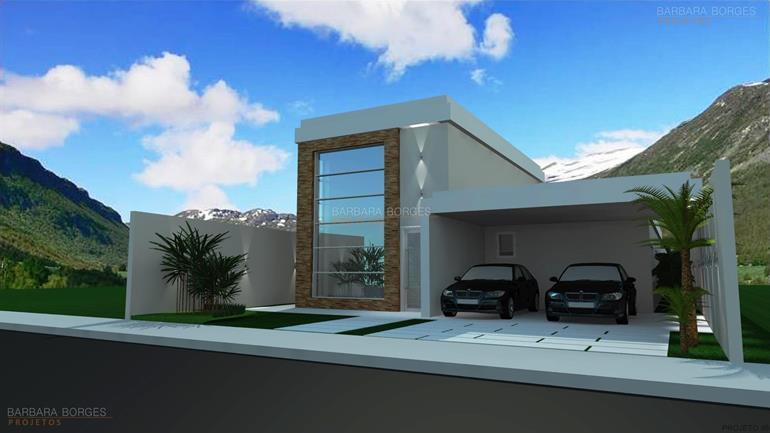 Casas 10 metros frente barbara borges projetos for Fachadas de casas modernas de 2 quartos