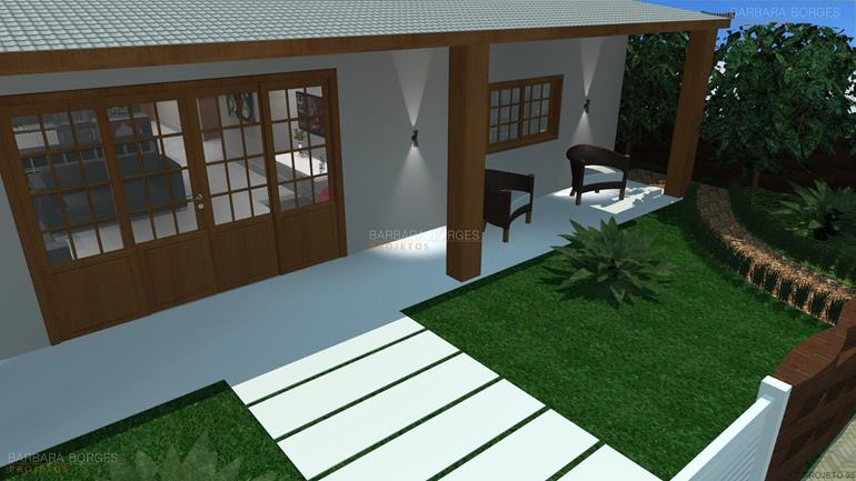 Casas 9 metros frente barbara borges projetos for Modelos de fachadas para frentes de casas