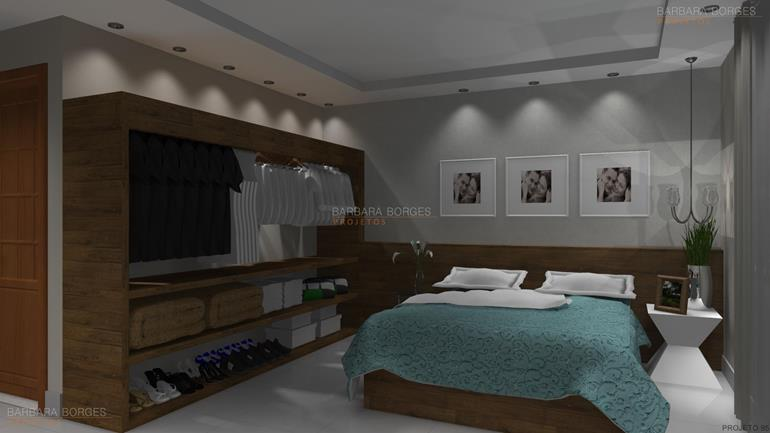 Casas closet barbara borges projetos Modelo de casa l