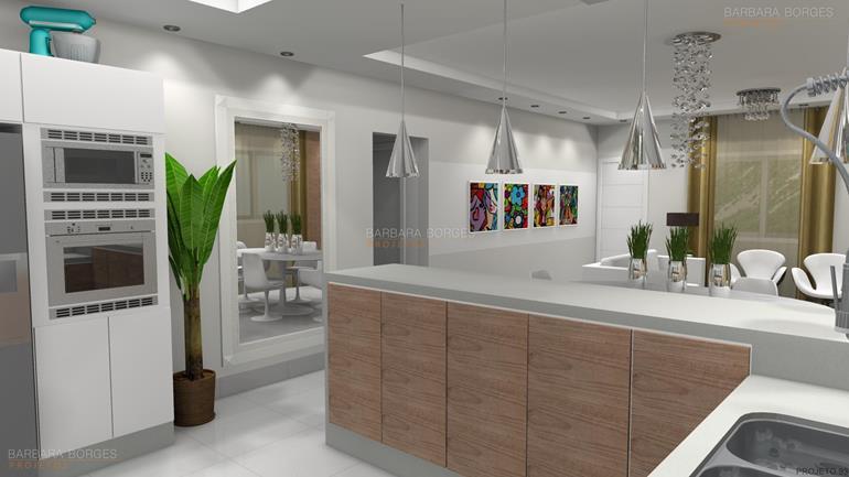 Cozinha pequena barbara borges projetos - Casas americanas interiores ...