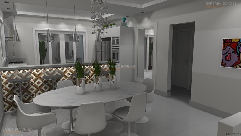 Decoraç u00e3o Apartamento Pequeno Barbara Borges Projetos -> Decoração De Pequenos Apartamentos Fotos