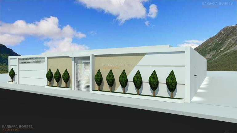 Modelos casas 3 quartos barbara borges projetos for Modelos de fachadas para frentes de casas