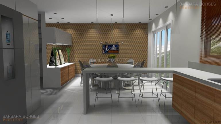 Modelos cozinhas americanas barbara borges projetos - Casas americanas interiores ...