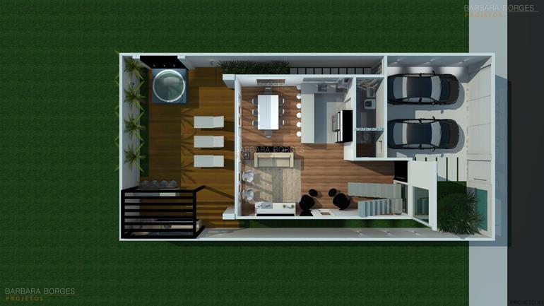 Plantas casas barbara borges projetos for Simulador de casas 3d gratis