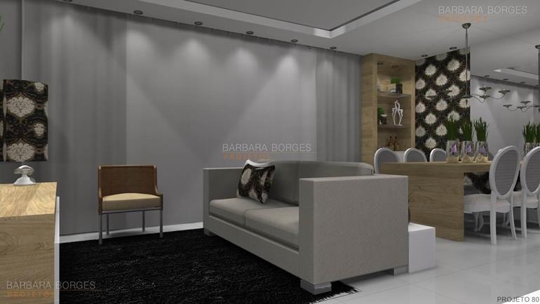 Salas modernas barbara borges projetos for Comedores modernos pequea os 2016