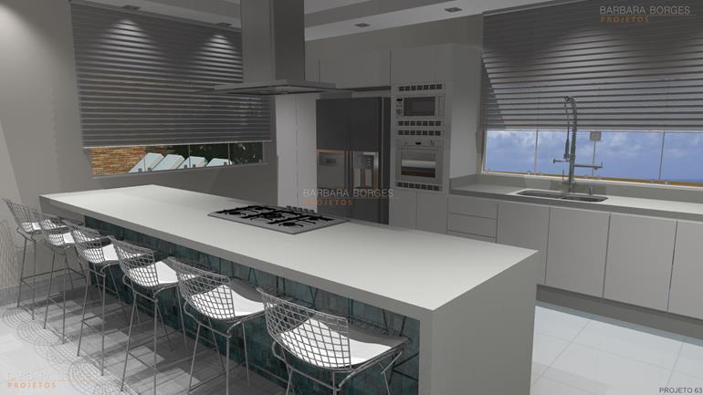 moveis planejados 10 ideias cozinhas ilha