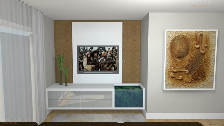 papel de parede na cozinha Apartamentos Decorado
