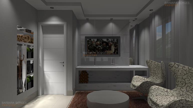 pisos e revestimentos para banheiro Apartamentos Decorado