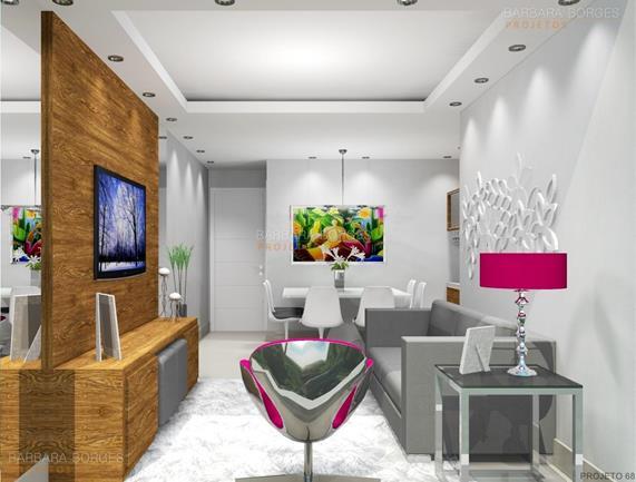 móveis planejados sp Apartamentos Decorados