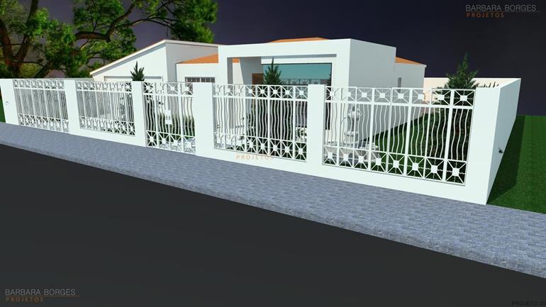 projetos de paisagismo Casa Geminada