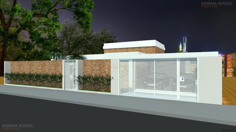 projeto de cozinha americana Casa Popular 2 4 Quartos